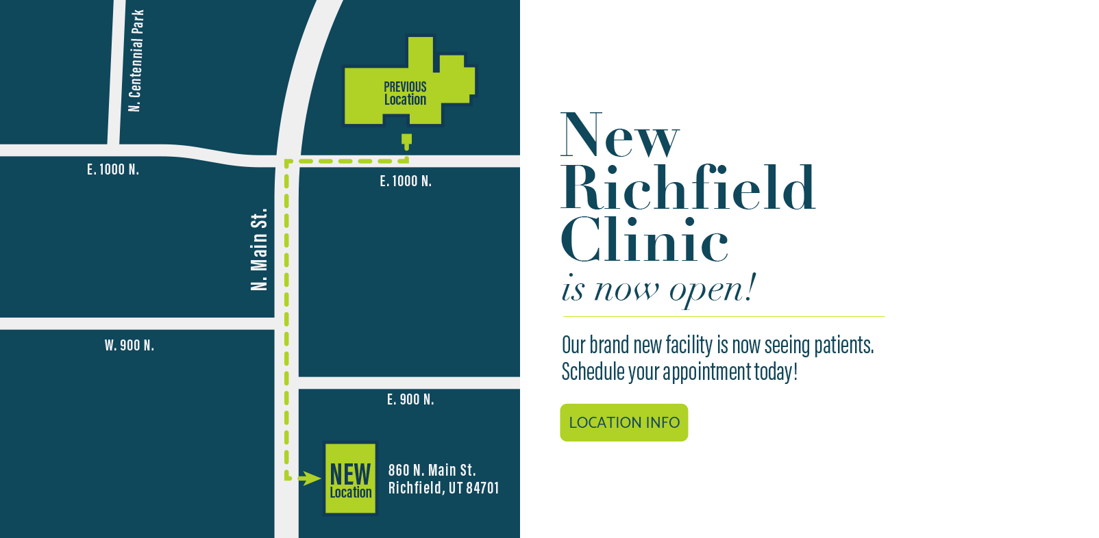 New Richfield Location