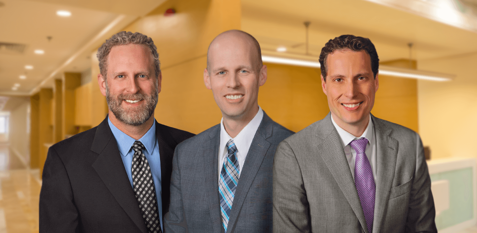 Drs. Andrew Talbott, Eric Freeman, and Bryan Hoelzer at Southwest Spine and Pain - Heber City and Park City